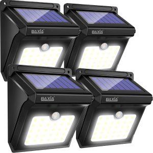Lampe Solaire Extérieure, BAXiA 28LED