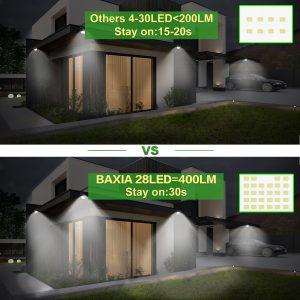 Lampe solaire Baxia